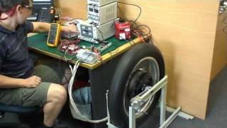 First Power Up - 10kW Brushless DC Hub Motor