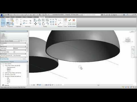 Como crear cupulas y cupulas vidriadas; Tutorial Revit   MODELARQ