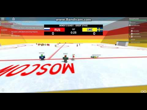 (SWG 2017) Russia v. Sweden Women's Bandy