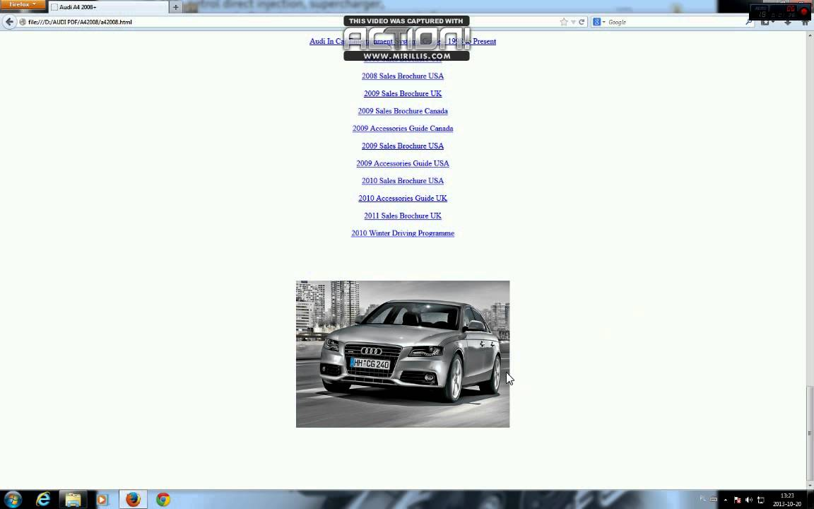 audi a4 b8 service manual repair youtube. Black Bedroom Furniture Sets. Home Design Ideas
