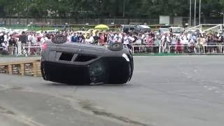 デミオ横転! オートジャンボリー2016 埼玉自動車大学校