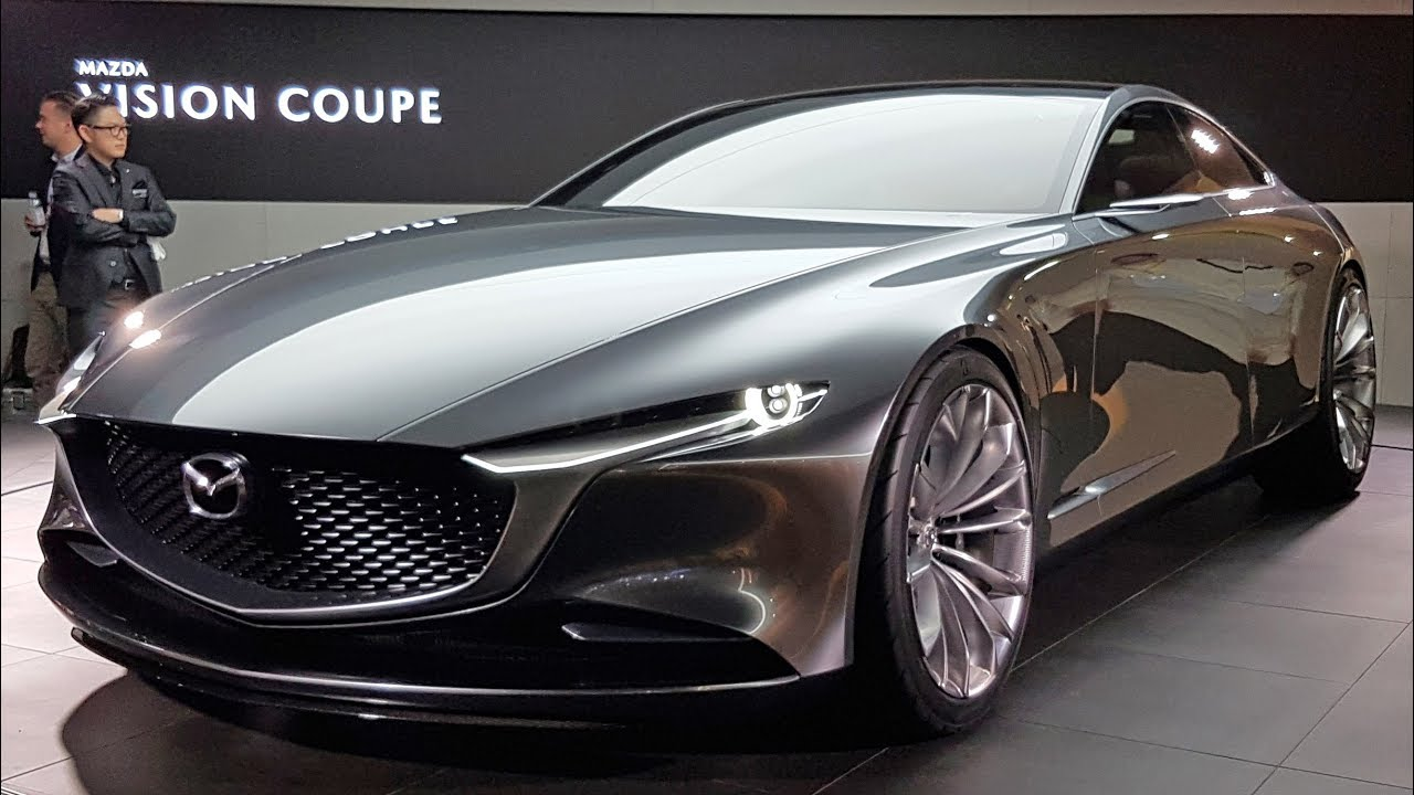 quick look mazda vision coupe the future of kodo styling youtube. Black Bedroom Furniture Sets. Home Design Ideas