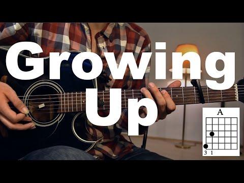 Growing Up - Macklemore & Ryan Lewis feat. Ed Sheeran Guitar Tutorial Guitar Lesson /Guitar cover/
