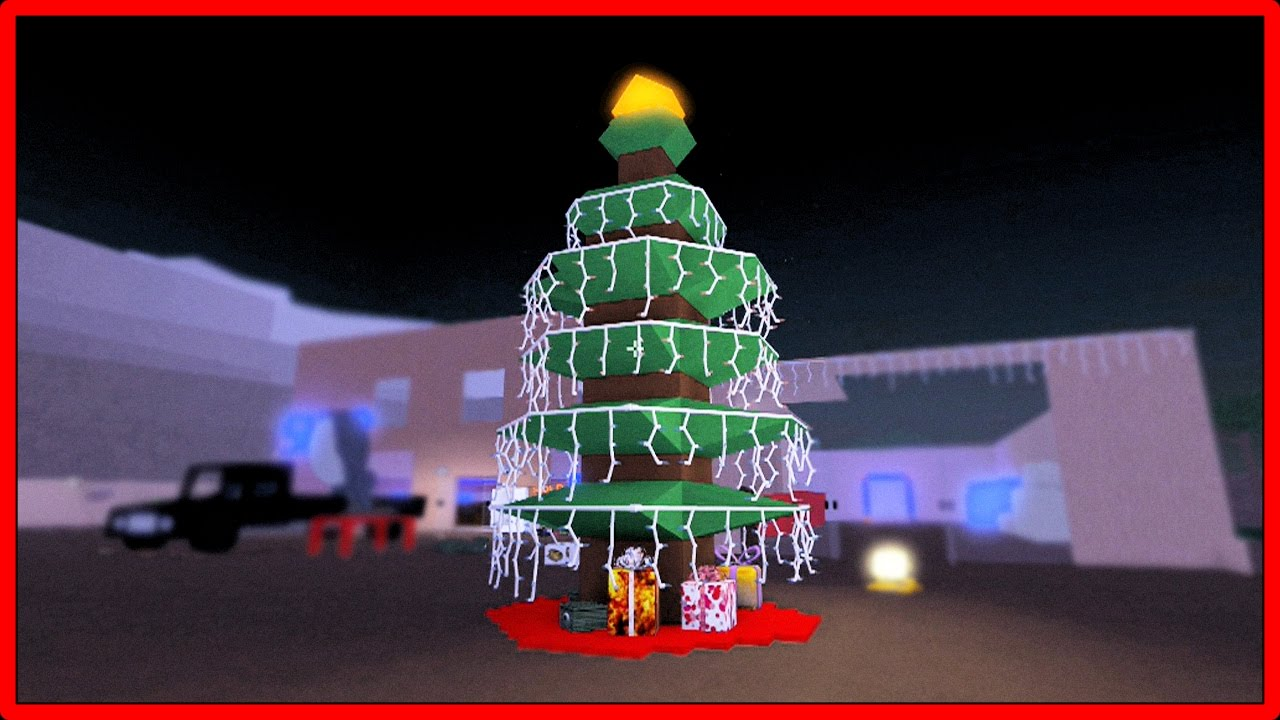 Roblox: Lumber Tycoon 2 | How To Build A Christmas Tree (Tutorial