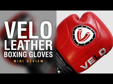 VELO Leather Boxing Gloves - Fight Gear Focus Mini Review