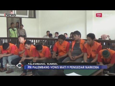 PN Palembang Vonis Mati 9 Bandar Sabu & Ekstasi Asal Surabaya, Jatim - INews Pagi 08/02