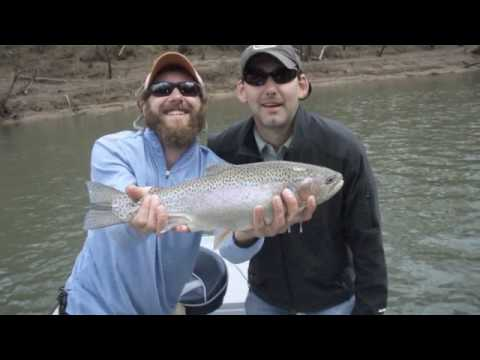 Trout Fishing On The Little Red River, Heber Springs, Arkansas
