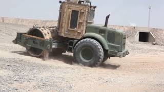 Marines Heavy Equipment at Camp Bastion, Afghanistan