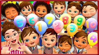 Learn Numbers For Kids | Seven Steps | Counting Song | Rhymes For Children | Banana Cartoons