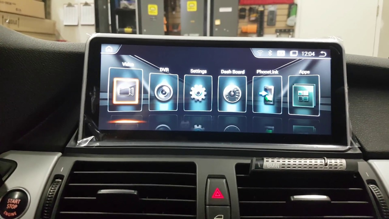 10 25 Quot Android Screen Navigation And Backup Camera Bmw X5