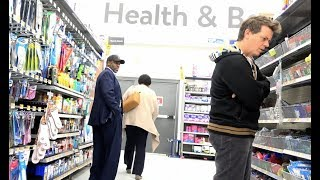 The Pooter Prank - Farting on People of WalMart