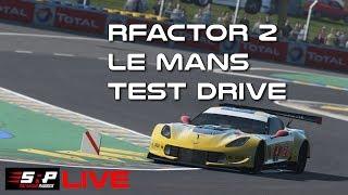 rFactor 2: Le Mans Test Drive
