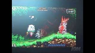 Ultimate Ghosts 'N Goblins Sony PSP Gameplay - TGS