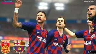 Fc barcelona asia tour #1 china | pes 2019 gameplay 2020