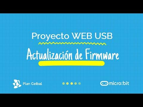 Actualización de firmware micro:bit