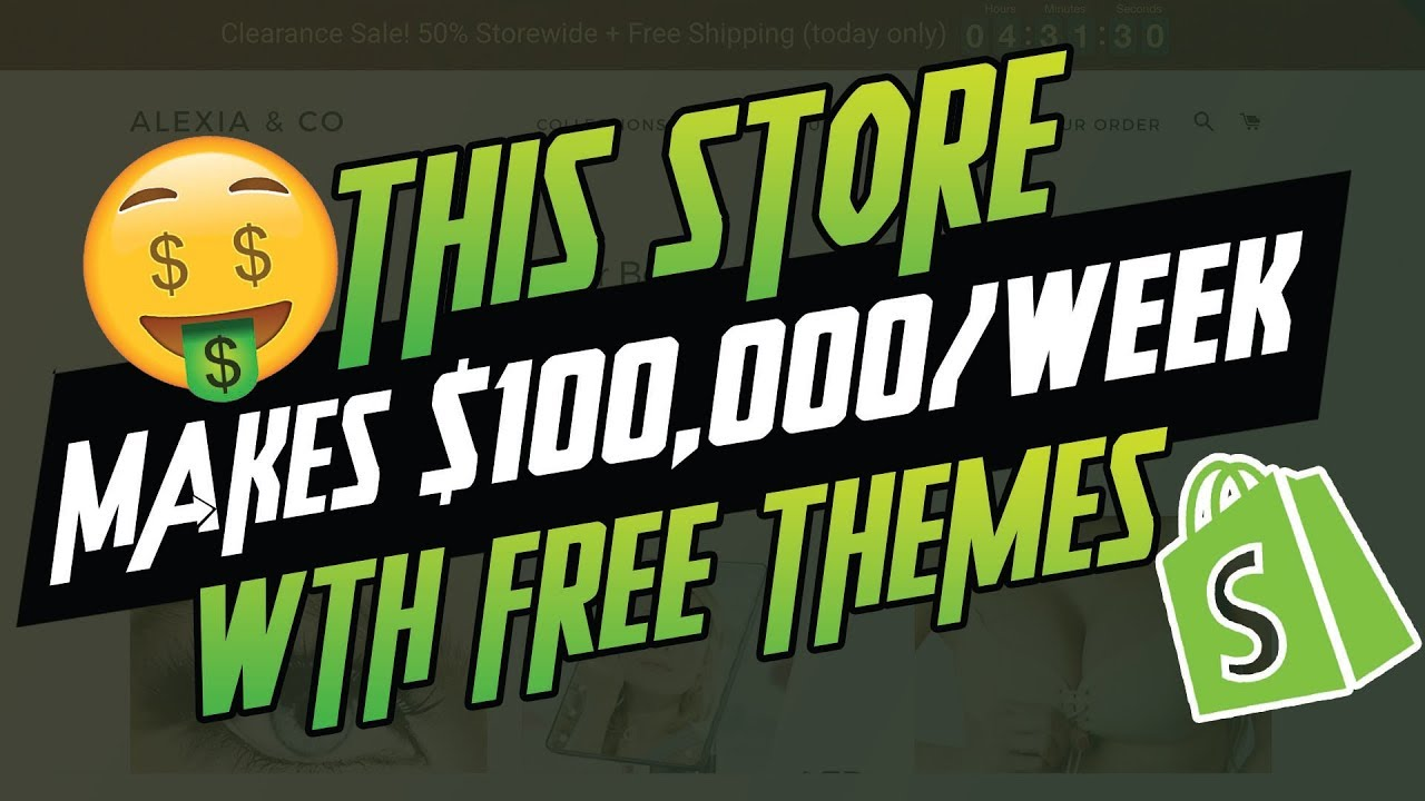 3 Tips To Crush It With Free Shopify Themes - (Do You Need A Paid Theme?)