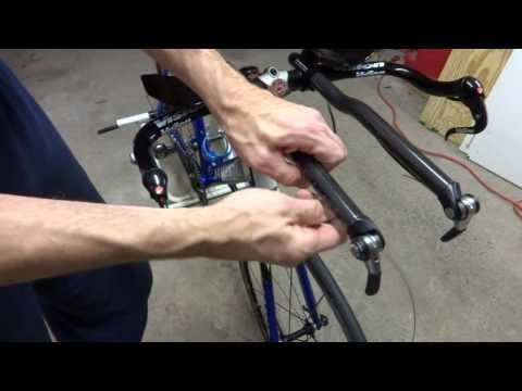 How To Replace Triathlon Bike Aerobars/Basebar/Levers/Cables (Remove/Installation)