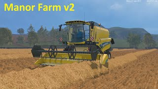 Farming Simulator 15 - Manor Farm v2 - Part 3 - Messing with bales