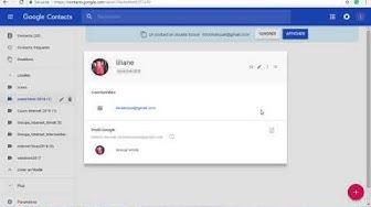 Comment créer un groupe de contacts Gmail