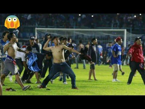 Full Detik Detik Kerusuhan AREMA vs PERSIB - Suporter Masuk Lapangan