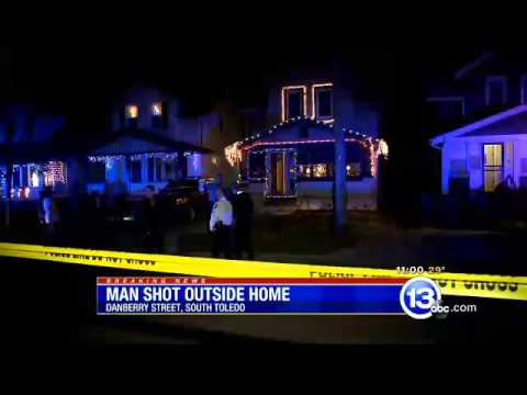 Breaking News: Toledo man shot and killed outside his home 122014 11pm