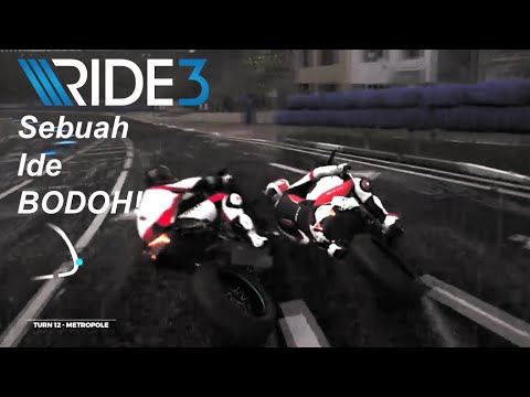 RIDE 3 Online Kocak  H2R Wet Race Adalah Sebuah Kebodohan! - 동영상