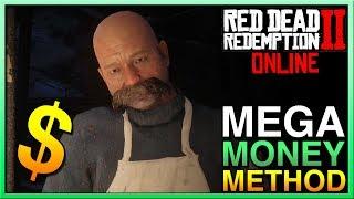 Red Dead Redemption 2 Online MEGA MONEY METHOD for Red Dead Online! RDR2 Online  Easy Money
