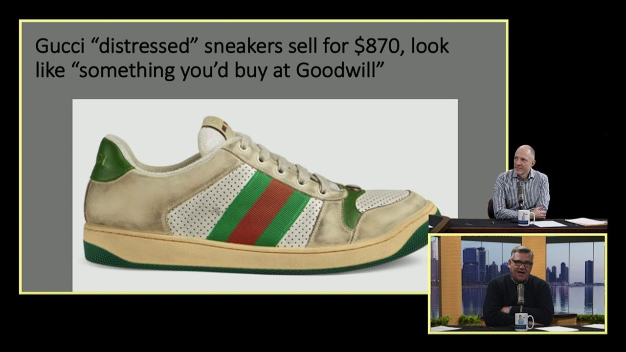 86d5a4e7bab Would you pay  900 for dirty sneakers  - YouTube