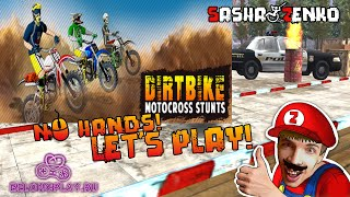 Dirt Bike Motocross Stunts Gameplay (Chin & Mouse Only)