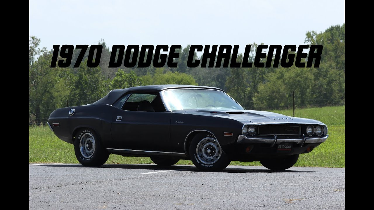 Today I Drive: 1970 Dodge Challenger R/T [Episode 8]