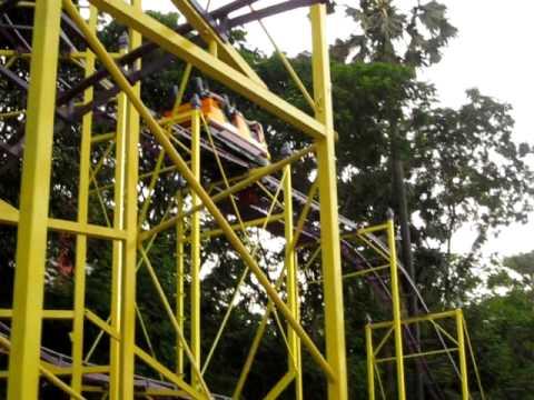 Roller Coaster Ride At Essel World, Mumbai