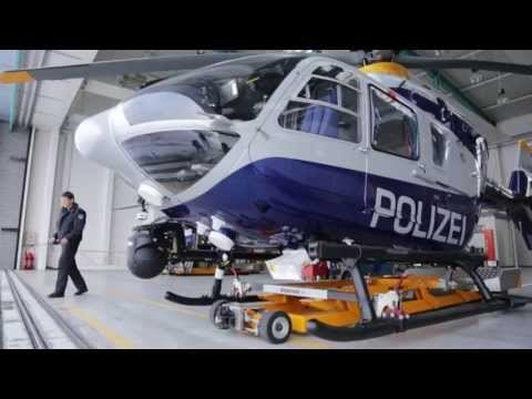 Airborne Technologies - System Integration into an EC135 of the Brandenburg Police
