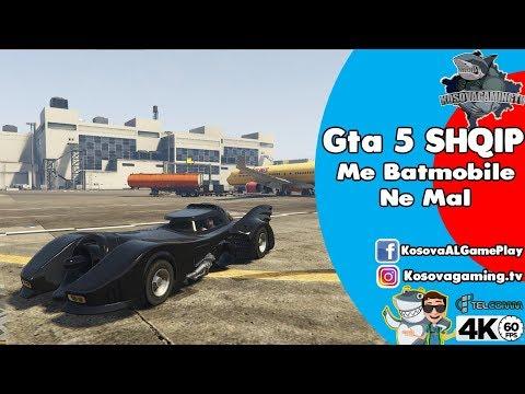 GTA 5 Shqip Me BatMobile ne Mal