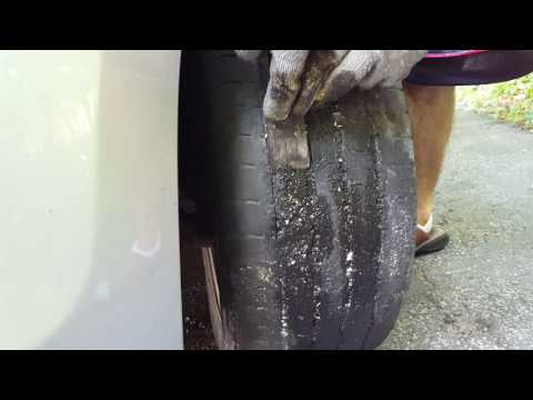How to remove tar from your tires