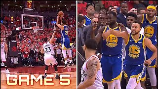 Klay Thompson & Steph Curry Takes Over! INSANE FINAL MINUTES - NBA Finals Game 5 ᴴᴰ