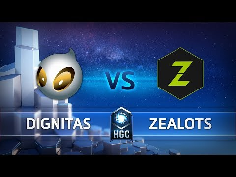 HGC EU – Phase 1 Week 5 - Team Dignitas vs. Zealots - Game 1