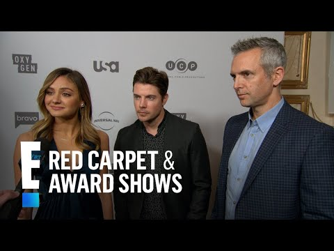 Josh Henderson & Christine Evangelista Talk Thanksgiving Plans  E! Live from the Red Carpet