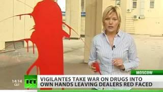 Justice Overdose? Vigilante 'dye attacks' leave drug dealers red-faced