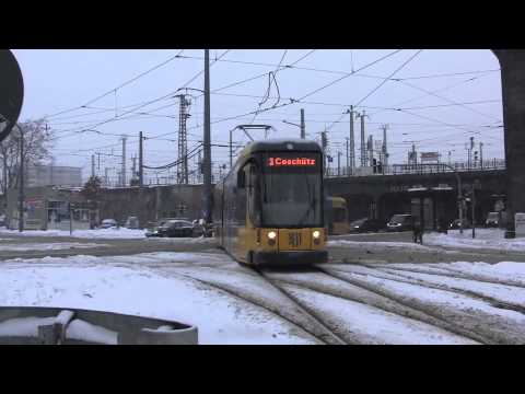 Dresden Trams - December 2010