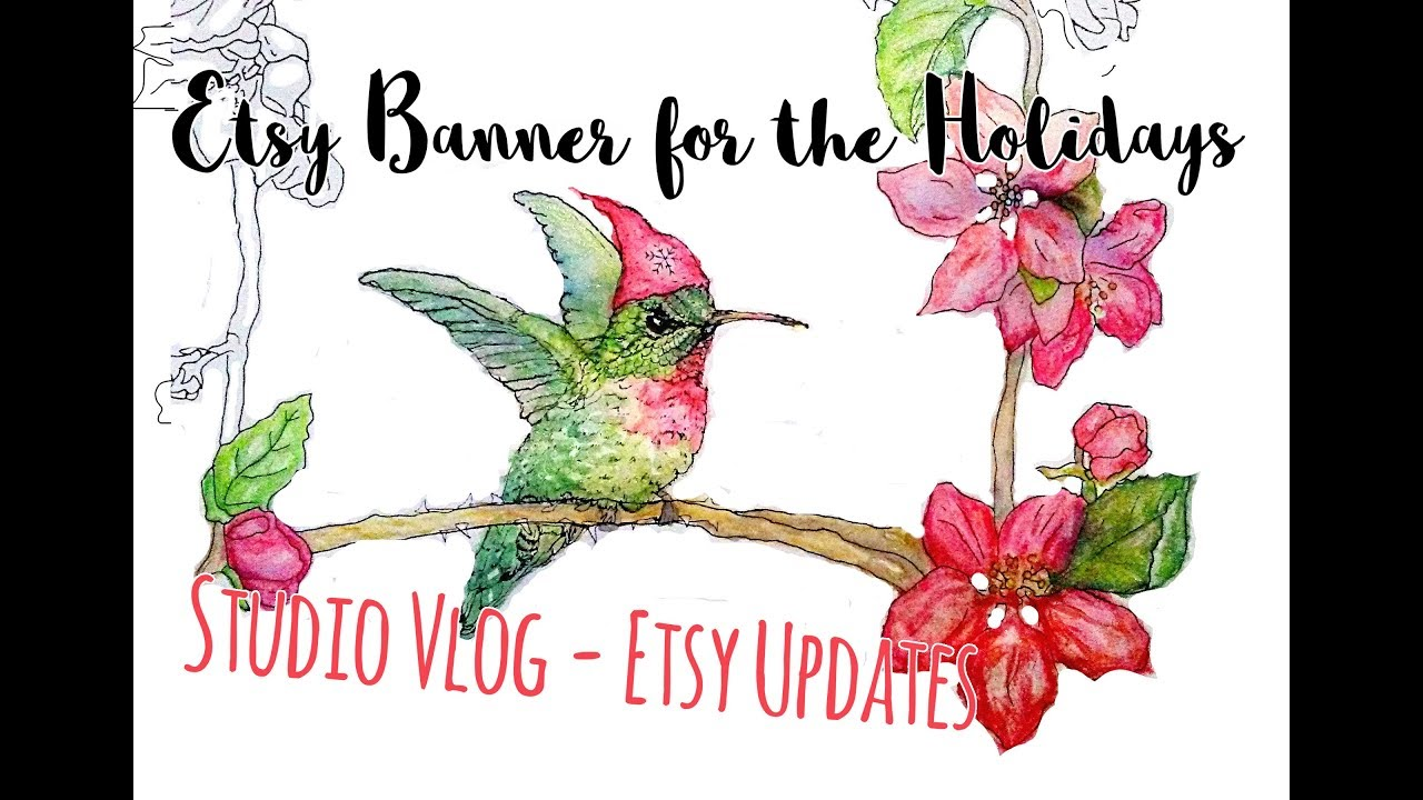 Making Etsy Banners Shop Updates