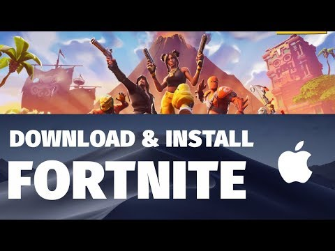 How To Download & Install Fortnite Battle Royale In MacOS Mojave | FREE | 2019