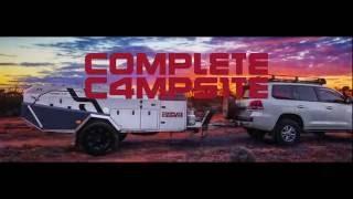 Complete Campsite Fraser XTE - Automatic Hard Floor camper trailer