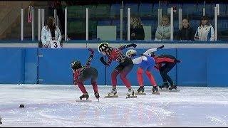 На Первенство Уссурийска по шорт-треку приехали сильнейшие конькобежцы ДВ