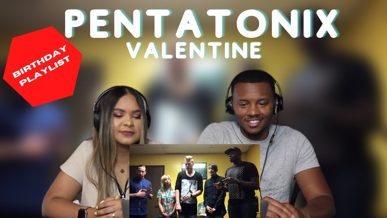 """Download First TIme Hearing -Pentatonix-VIP Private Performance Of """"Valentine"""" A Capella  Pentatonix Reaction"""