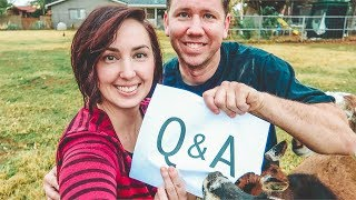 Which GOAT is our favorite? (and other questions!) Q&A PART 1