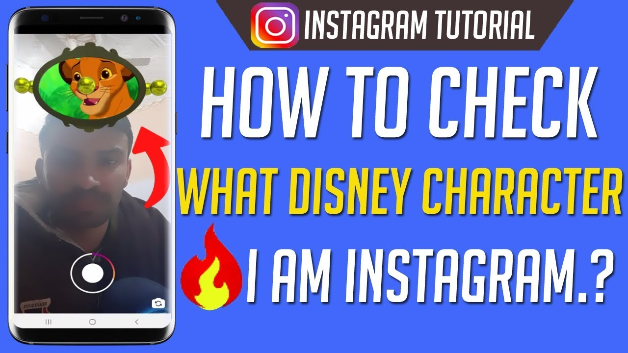 how to play which disney character are you on instagram
