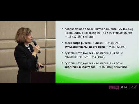 02 Атрофические процессы влагалища и вульвы  Новые возможности терапии  Е Г Назаренко