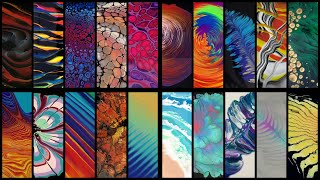 20 Different Acrylic Pouring Techniques - Abstract Fluid Art + Music