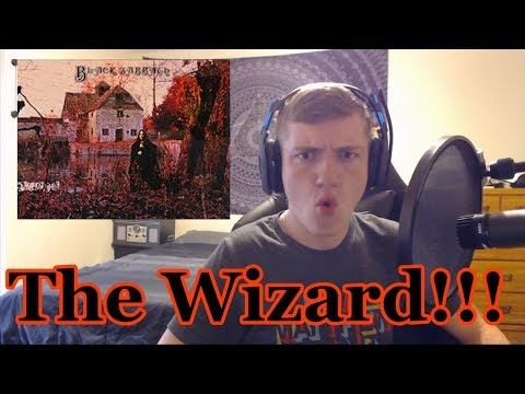 College Student's First Time Hearing The Wizard! Black Sabbath Debut Full Album Reaction!