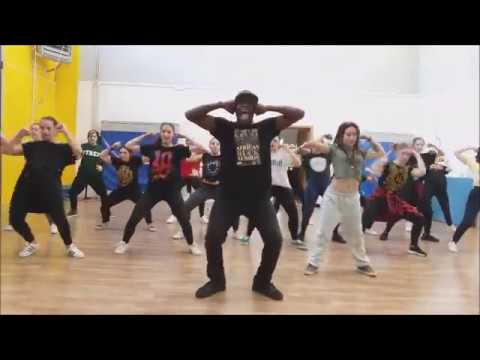 KRUMP SESSION AND CHOREGRAPHY - Chrisby L'Africano